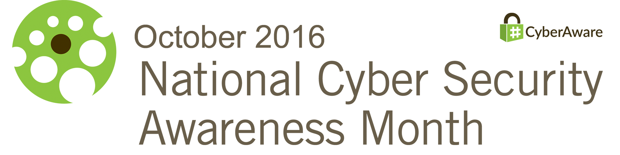 October 2016 National Cyber Security Awareness Month Logo