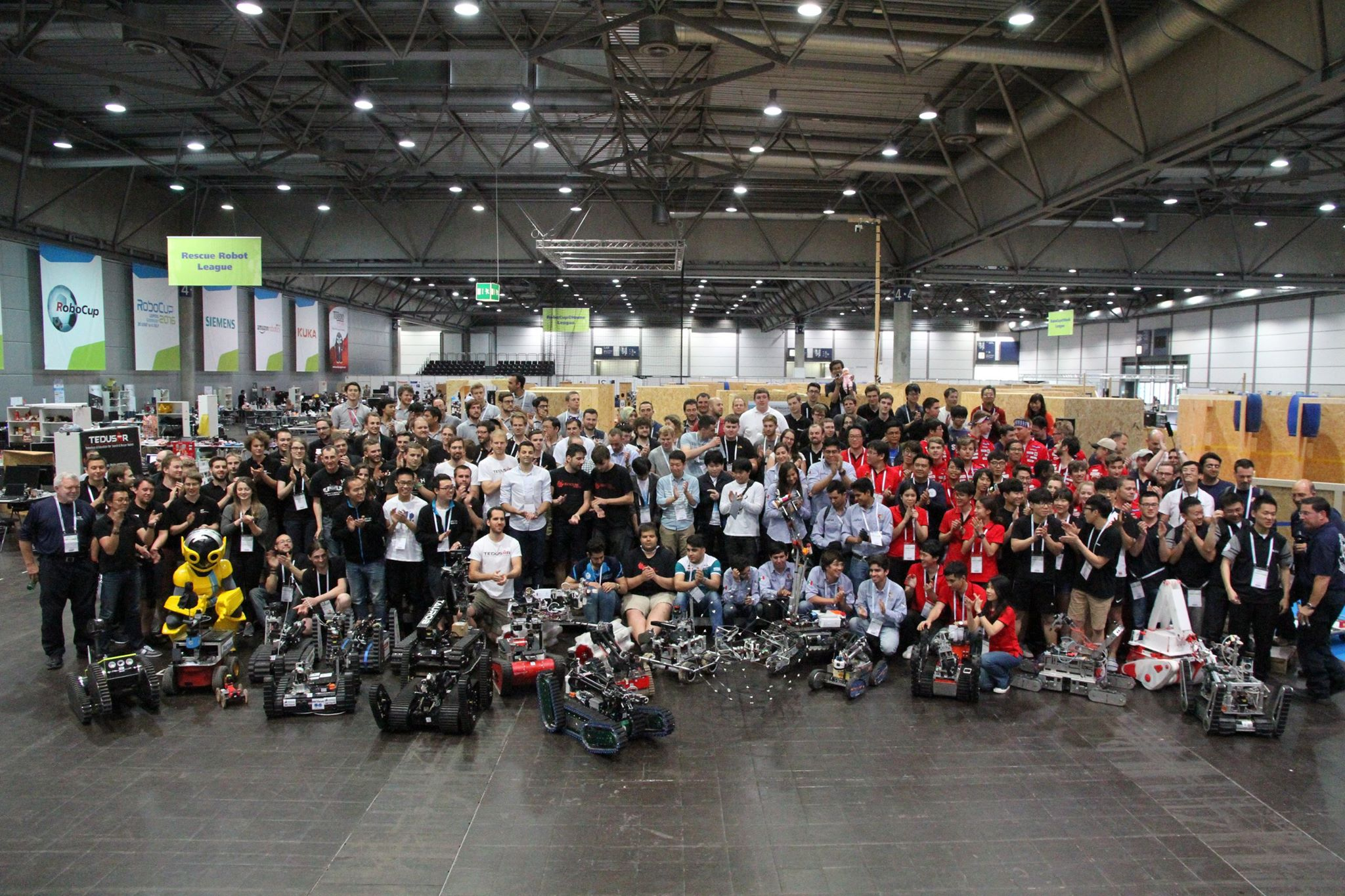 RoboCup Rescue League Team Picture