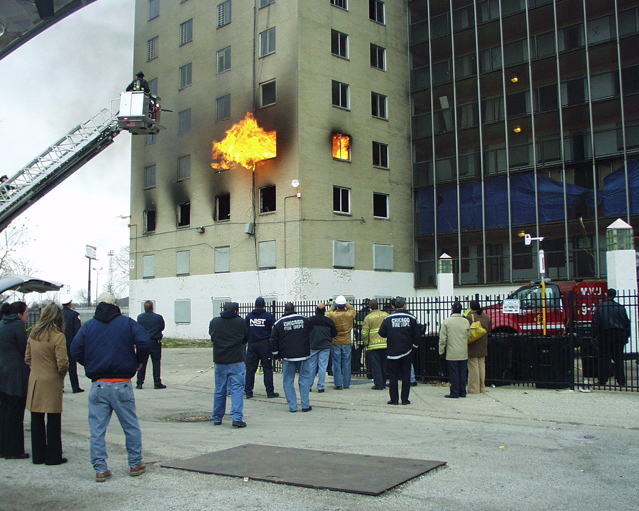 Nist Test Fans The Flames For High Rise Fire Safety Nist