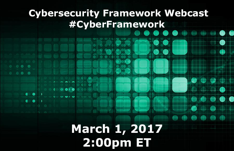 Cybersecurity Framework Virtual Events Nist