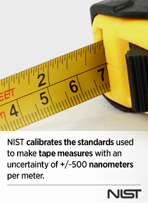 going the distance on national tape measure day nist