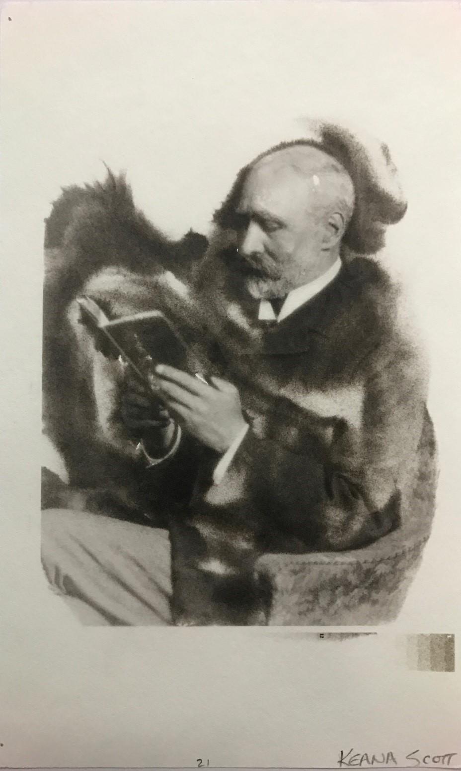 Keana Scott's PtPd print of William Willis, Jr.
