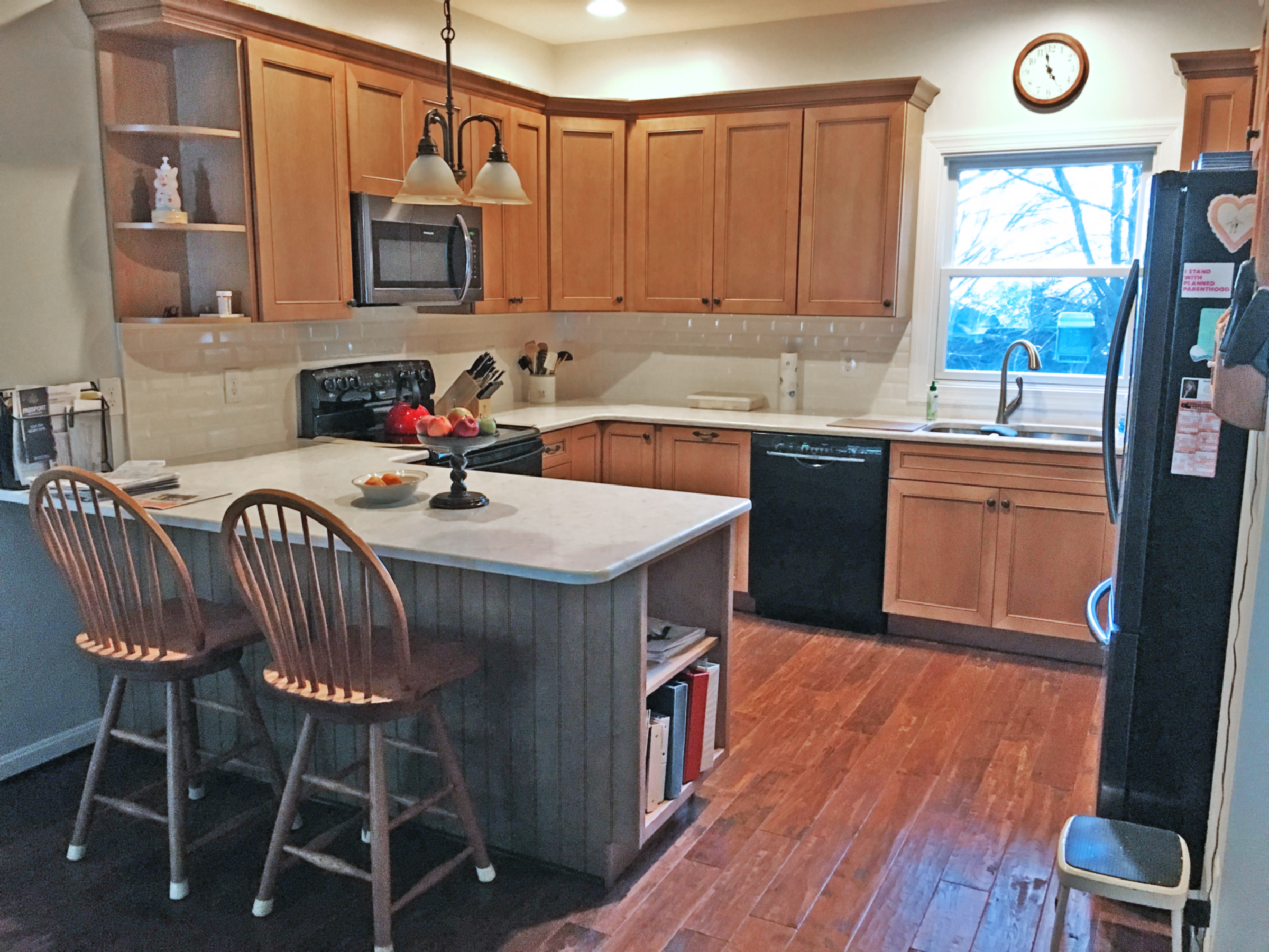 all around the kitchen: tales of a kitchen remodel sourced in the