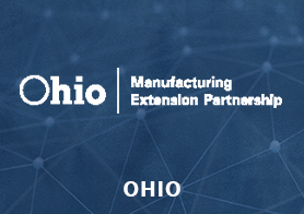 Ohio Manufacturing Extension Partnership logo that links to the MEP Center's one pager