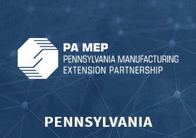 Pennsylvania Manufacturing Extension Partnership logo that links to the MEP Center's one pager