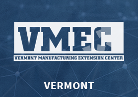 Vermont Manufacturing Extension Center (VMEC) logo that links to the MEP Center's one pager