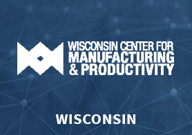 Wisconsin Center for Manufacturing & Productivity logo that links to the MEP Center's one pager