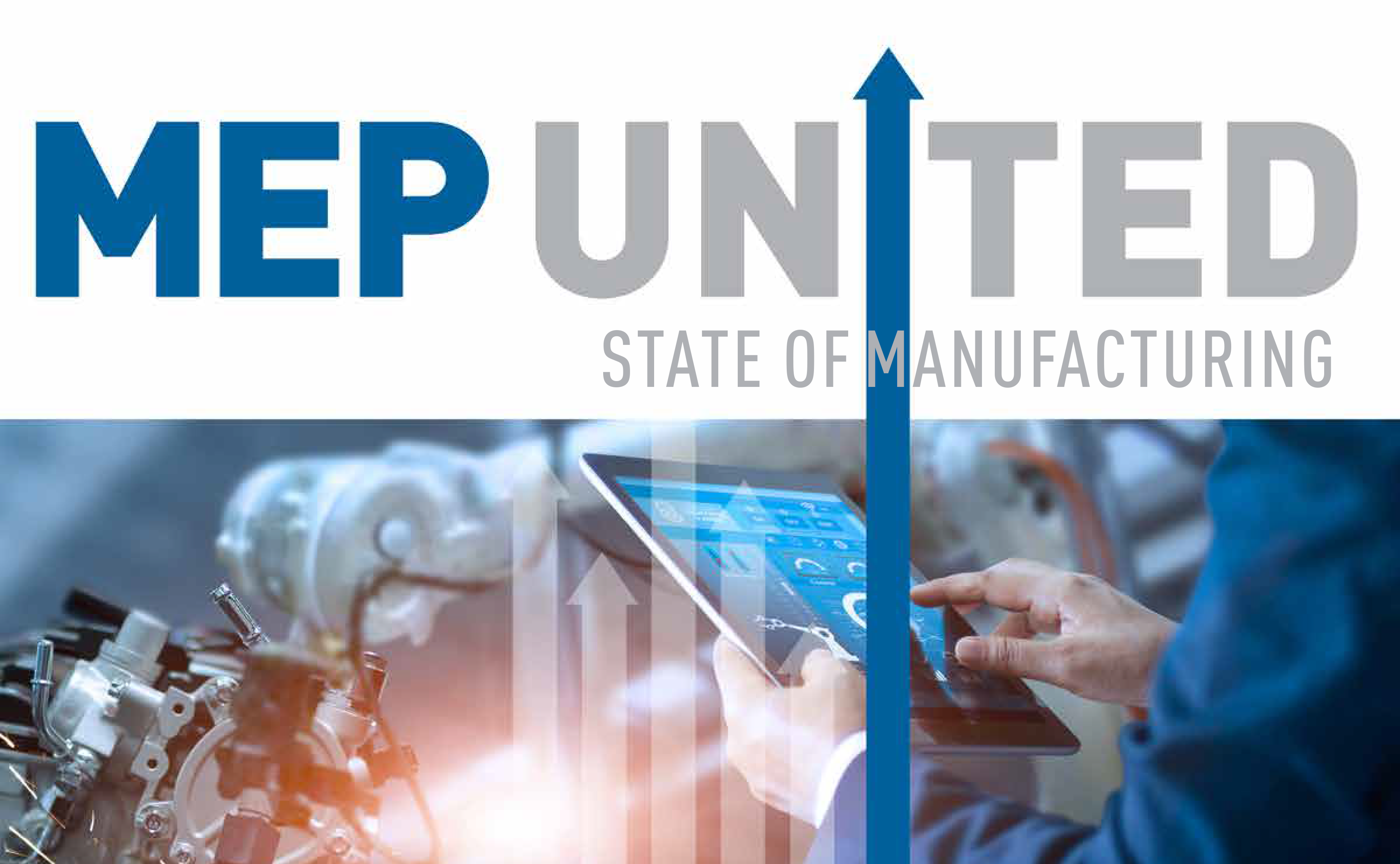 united state of manufacturing with a industry 4.0 image