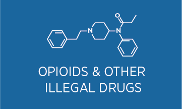 Opiods forensic icon