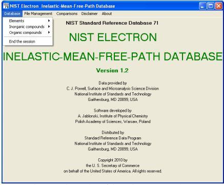 NIST Standard Reference Database 71 | NIST
