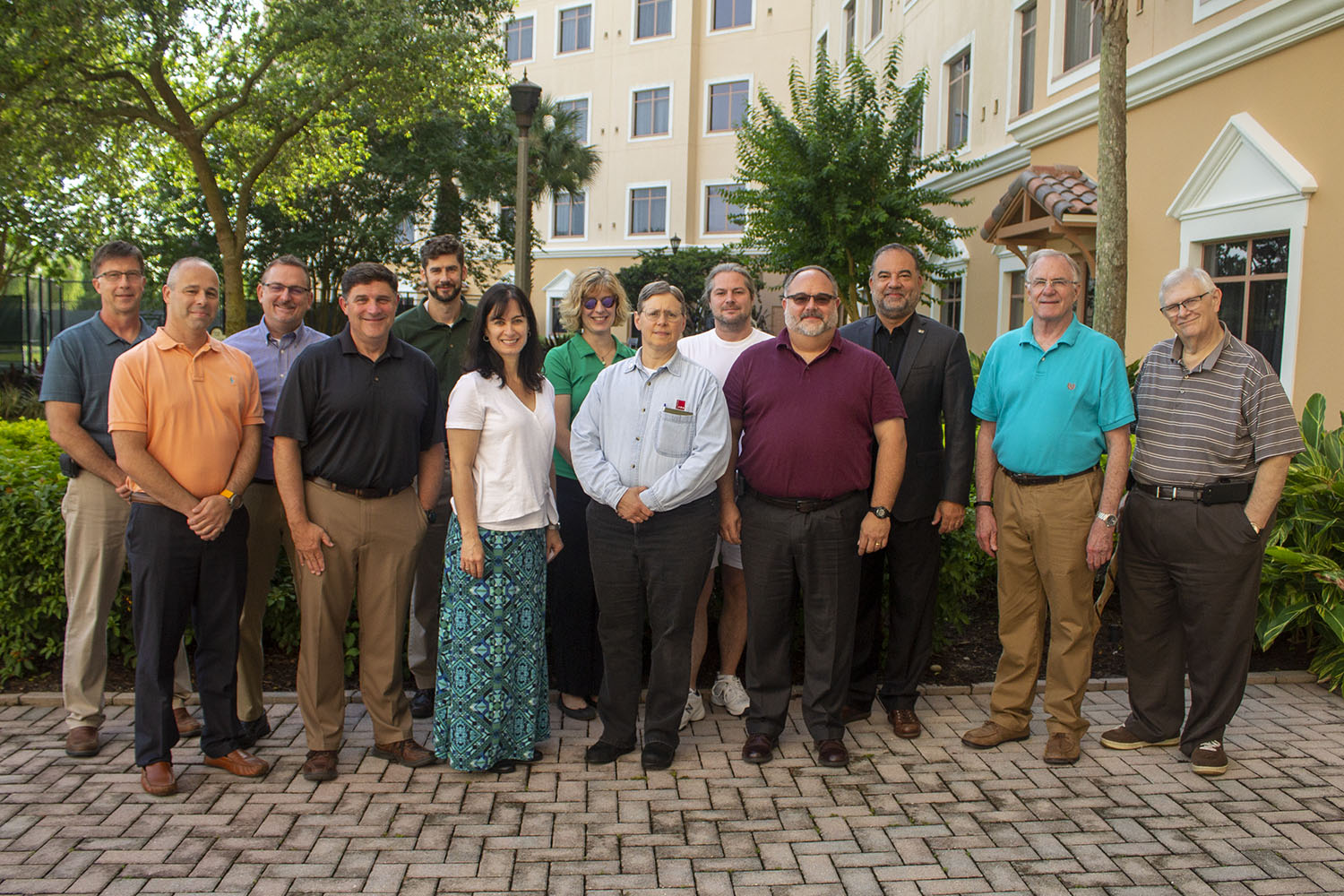 Members of the Chemistry/Instrumental Analysis Scientific Area Committee (SAC)