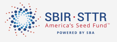 Logo for the SBA's SBIR STTR program