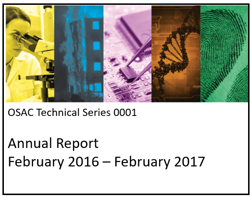 OSAC Technical Series Publication 0001