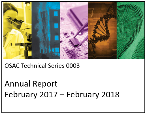 OSAC Technical Series Publication 0003