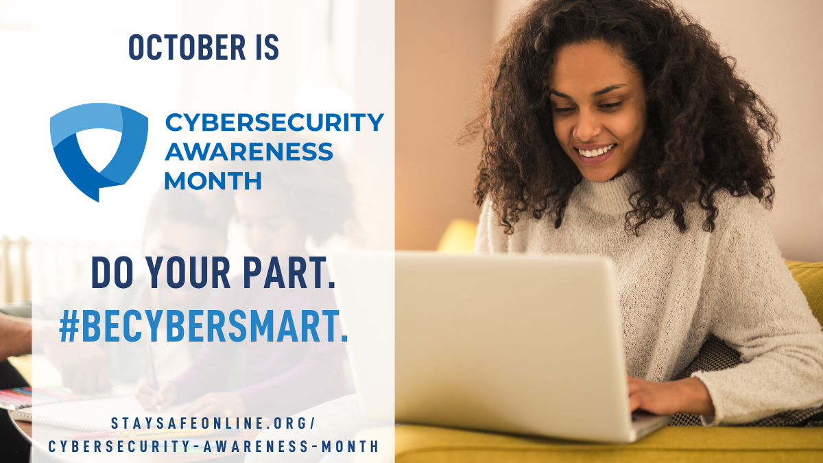 National Cyber Security Awareness Month 2020