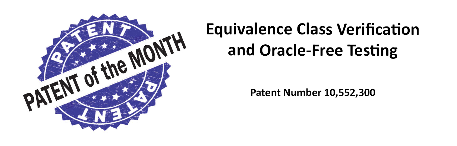 Equivalence class verification and oracle-free testing using two-layer covering arrays