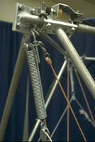 Support point of the Mobile 2m Octahedral Gantry frame