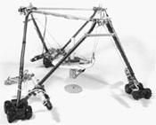 Oil Well Fire Fighting RoboCrane Model