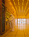 inside of the AML cleanroom