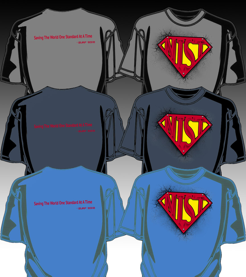 Super tee NIST Colors