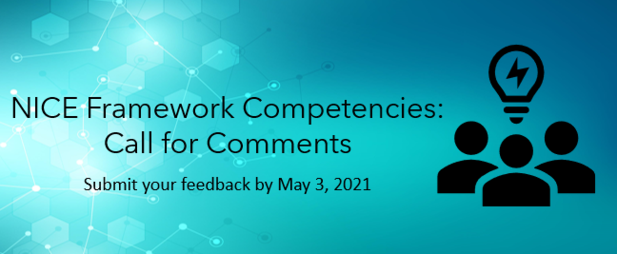 NICE Framework- Call for Comments HERO image