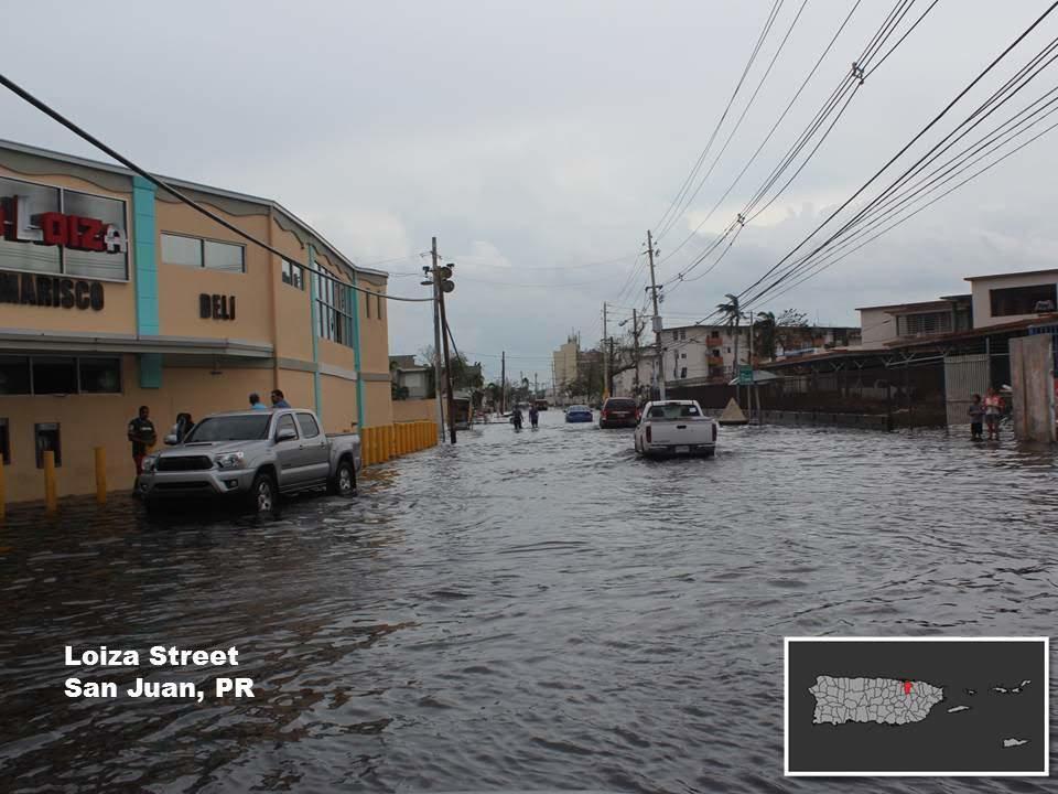 Hurricane Maria: San Juan