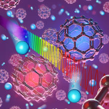 Rulers of light shining on individual buckyballs