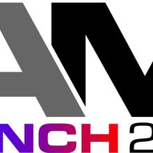 Colorful logo for the AM Bench program for 2021