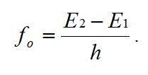 atomic oscillator equation