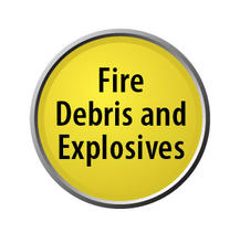 Fire Debris & Explosives lollipop