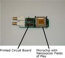 2009 Nanosoccer Circuit Board