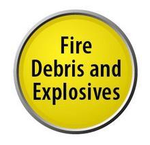 fire debris & explosives lollipop