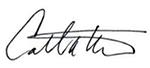 Carroll Thomas signature