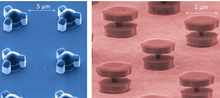 Micro-fabricated magnetic structures