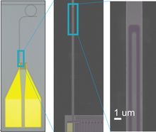 Waveguide coupled superconducting nanowire single photon detector