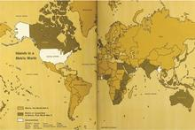 Metrication Map from NBS SP 345:1971, A Metric America: a Decision Whose Time Has Come, U.S. Metric Study Report to Congress