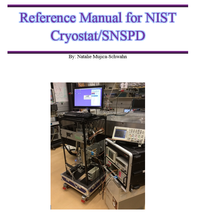 reference manual for NIST cryostat/SNSPD
