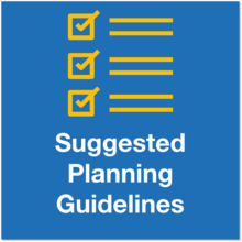 Suggested planning guidance icon