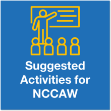 Suggested Activities for NCCAW icon