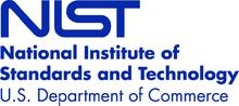 Blue version of the NIST logo