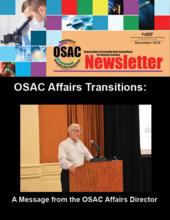 OSAC Newsletter, November 2018