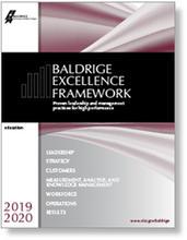 2019-2020 Baldrige Excellence Framework Education cover art