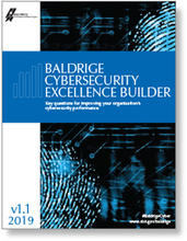Baldrige Cybersecurity Excellence Builder Version 1.1 cover