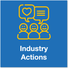 industry actions icon