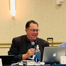 Chris Plourd at the 2019 OLSS Meeting