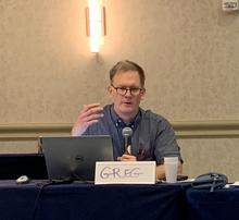 Greg Davis at 2019 OLSS Meeting