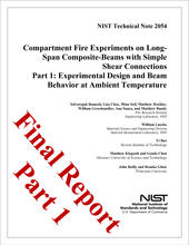 Experimental design and and beam behavior report cover image