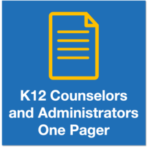 NCCAW Icon K12 Counselors