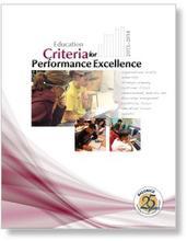 2013-2014 Baldrige Education Criteria Cover