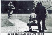 Dizzy Dean rears back